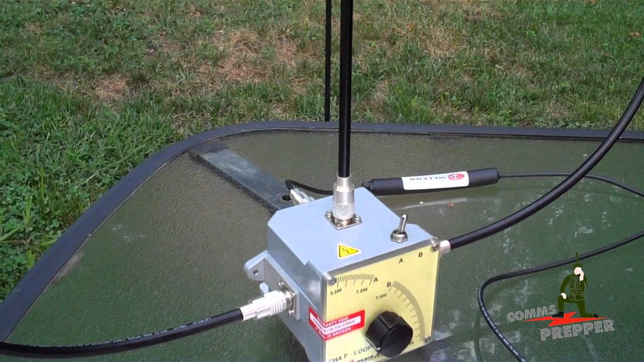Portable Tactical HF Loop Antenna (Chameleon Antennas CHA F-Loop)