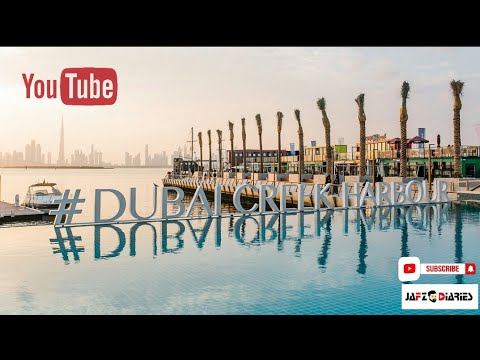 DUBAI CREEK HARBOUR | TRAVEL VLOG | JAFZ DIARIES
