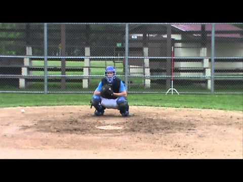 Logan Hile (C, OF) Rice Lake High School Class of 2016 Baseball Skills Video