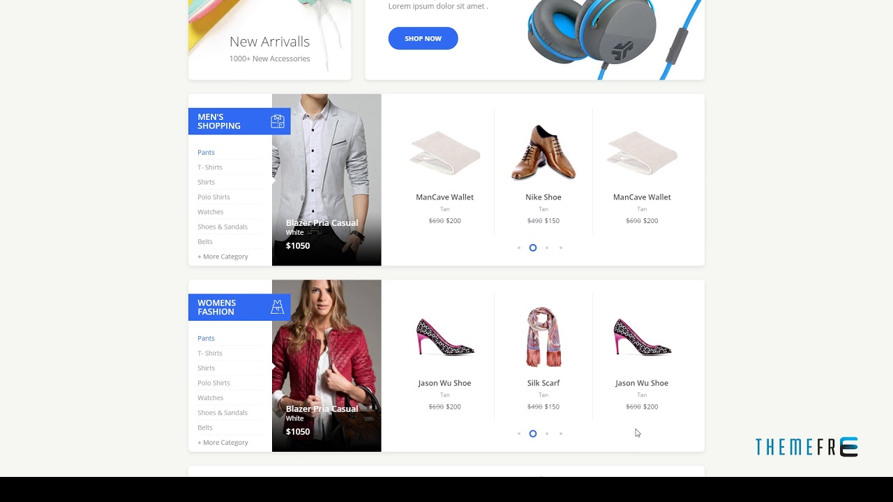 Carrito Bootstrap 4 Ecommerce Template Tfx Dowload Bootstra Youtube