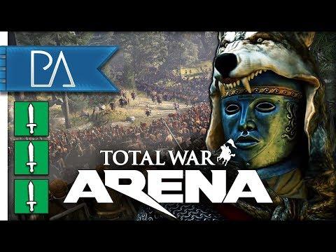 AMBUSHING THE ENEMY - Arminius - Total War: Arena Gameplay