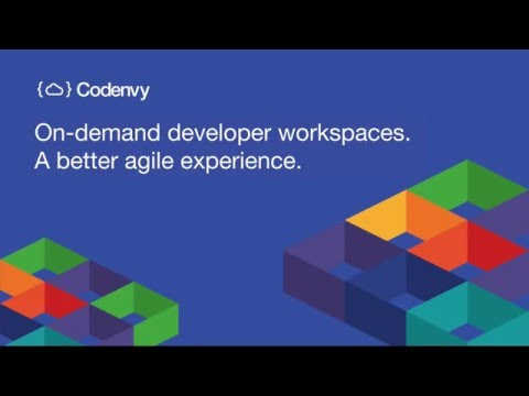 Codenvy on-demand developer workspaces. A better agile experience.