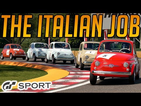 Gran Turismo Sport: The Italian Job Race