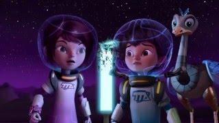 Майлз с другой планеты - Путешествие на ледяную планету/Атака фликораксов - Сезон 1 Серия 2 | Disney