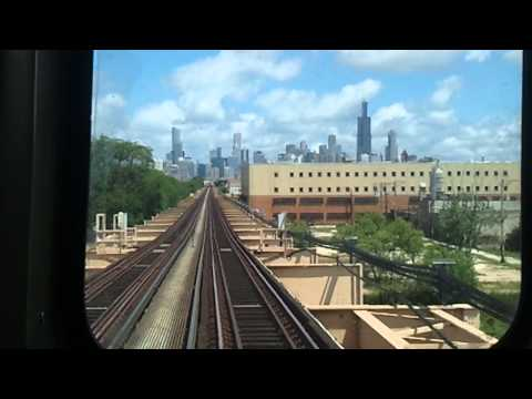 CTA Green Line California to Roosevelt Pt. 1
