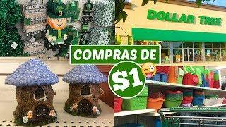 COMPRAS E TOURZÃO PELO DOLLAR TREE - LOJA DE $1 NOS EUA