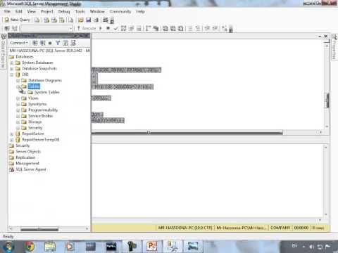 الدرس الثالث عشر: لغة سكول جزء1 SQL-Language