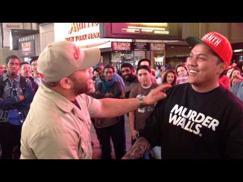Letters First Soldier  Getting Hypnotized In Times Square By Mr. P