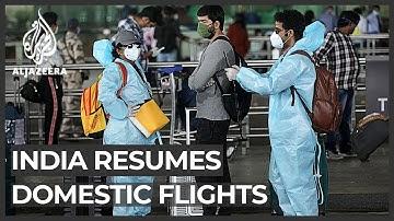 India resumes domestic flights amid confusion, chaos at airports