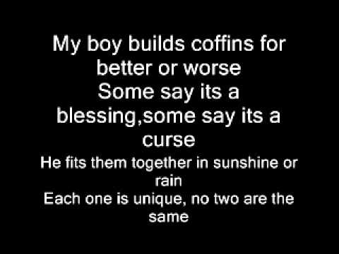 Florence And the Machine - My boy Builds Coffins (LYRICS)