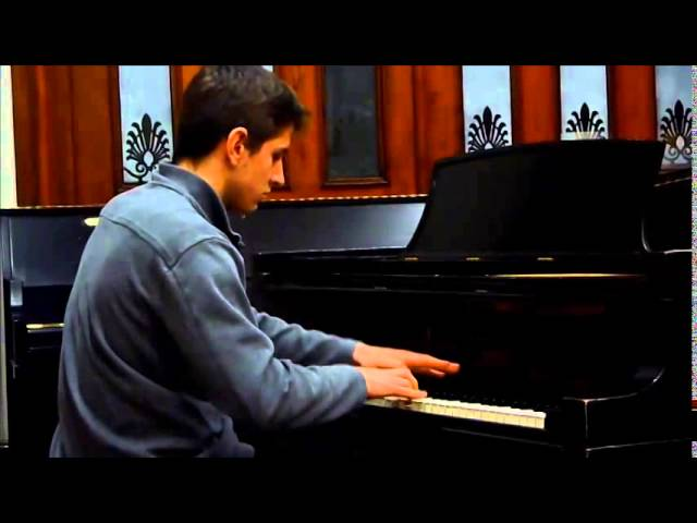 Cours de piano Montreal. Montreal piano lessons:Advanced:  Katchaturian toccata