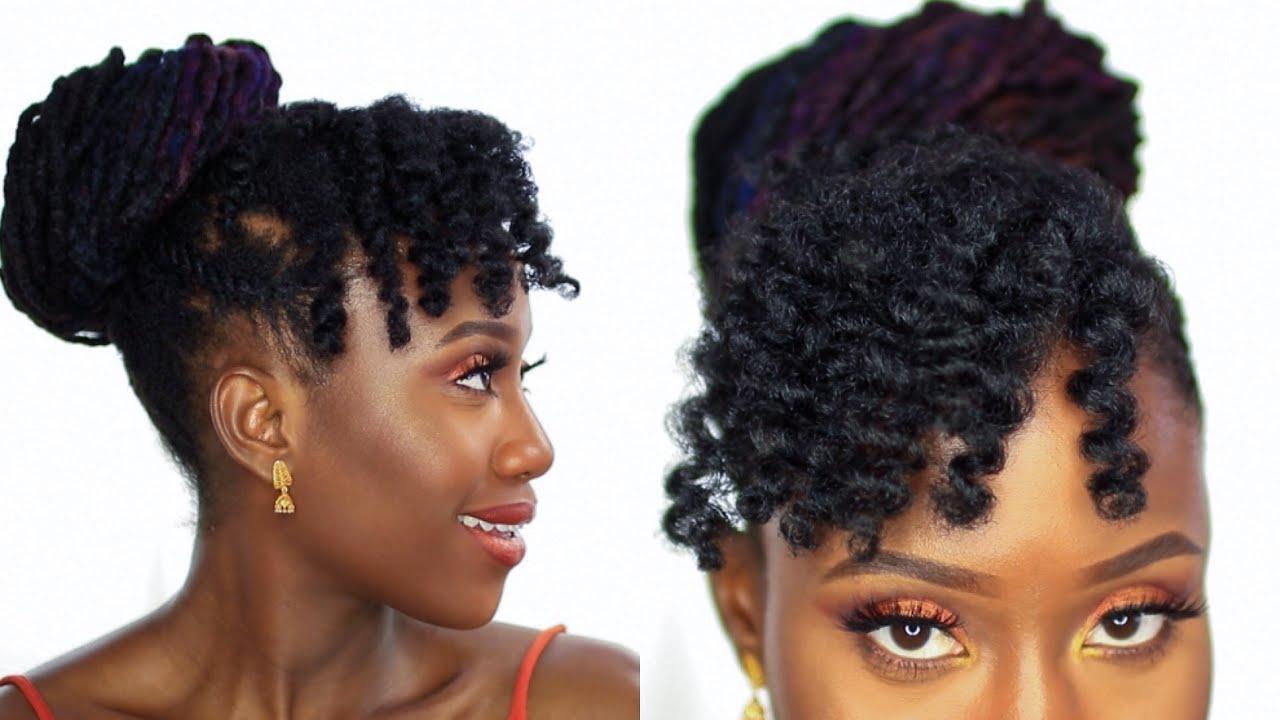 4 C Hairstyles: SUPER DEFINED FLEXI-ROD SET ON 4B/4C HAIR