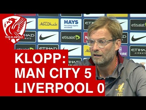 Man City 5-0 Liverpool - Jurgen Klopp's Post-Match Press Conference