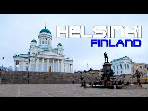 HELSINKI FINLAND Snowmobile & City Holiday Trip 1080p
