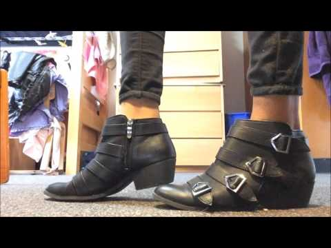 ASMR Shoe Collection: Try on (Soft Spoken, Walking/Shoes Sounds) Part 2