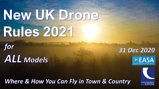 New UK Drone Regulations 2021 - Where You Can Now Fly with YOUR Model from 31 Dec 20