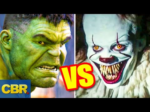 hulk-vs-pennywise-battle