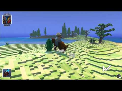 LEGO Minecraft? LEGO Worlds Part 1: Exploration (Learning the Game)