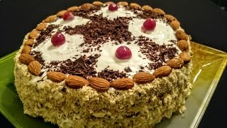 Вкусный торт Сметанник рецепт Секрета приготовления(Торт Сметанник рецепт вкусного приготовления. Ингредиенты на Сметанный торт: На тесто - Сметана 350 мл. Яйцо..., 2016-01-04T11:29:04.000Z)