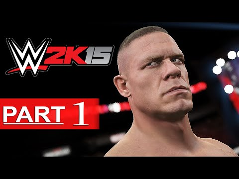 WWE 2K15 Walkthrough Part 1 [HD] Hustle, Loyalty, Disrespect - WWE 2K15 Gameplay Showcase Mode