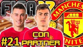 FIFA 17 Manchester United Modo Carrera #21 | CLASE MUNDIAL | CON PARTNER