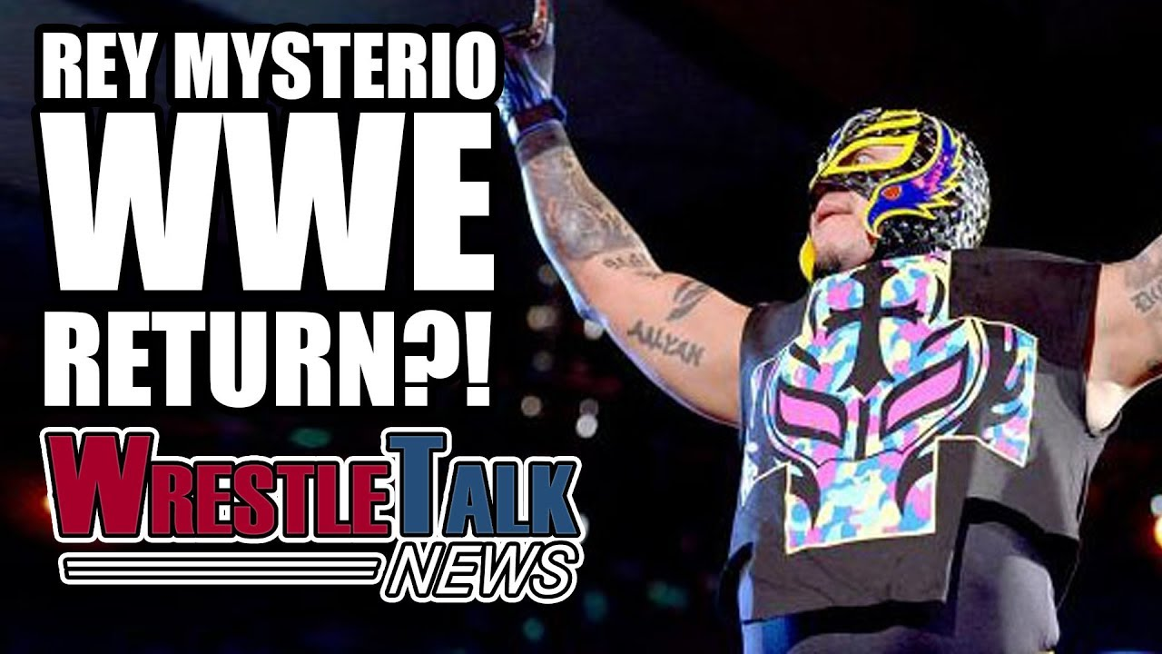 Rey Mysterio RETURNING To WWE!? | WrestleTalk News July ...