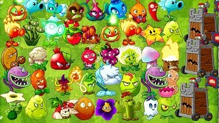 Plants vs. Zombies 2 Every Free Plant Power Up! vs Barrel Roller Zombies