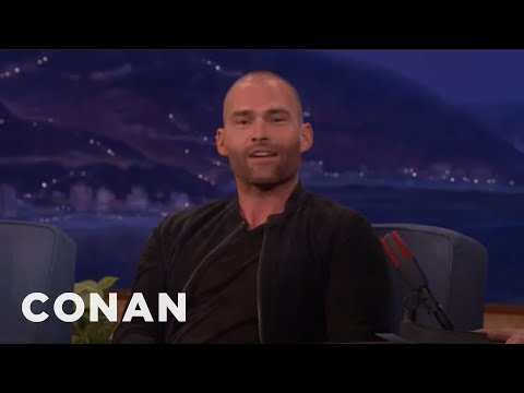 Seann William Scott's Bad Lightning Bolt Tattoo   CONAN on TBS