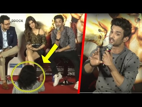 Thumbnail: Sushanth Singh Rajput Gets Angry At Raabta Trailer Launch | follo.in