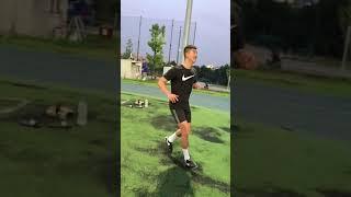 축구 컨트롤 & 드리블 테스트 영상