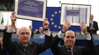 Оппозиции Венесуэлы вручили премию имени Сахарова  (новости)
