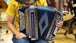 Steirische Harmonika Lernvideo: Slowenischer Bauerntanz