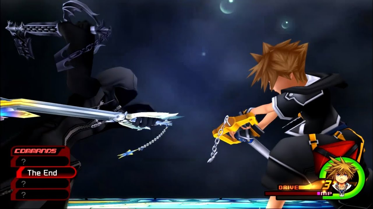 Roxas Sora Boss Fight The End