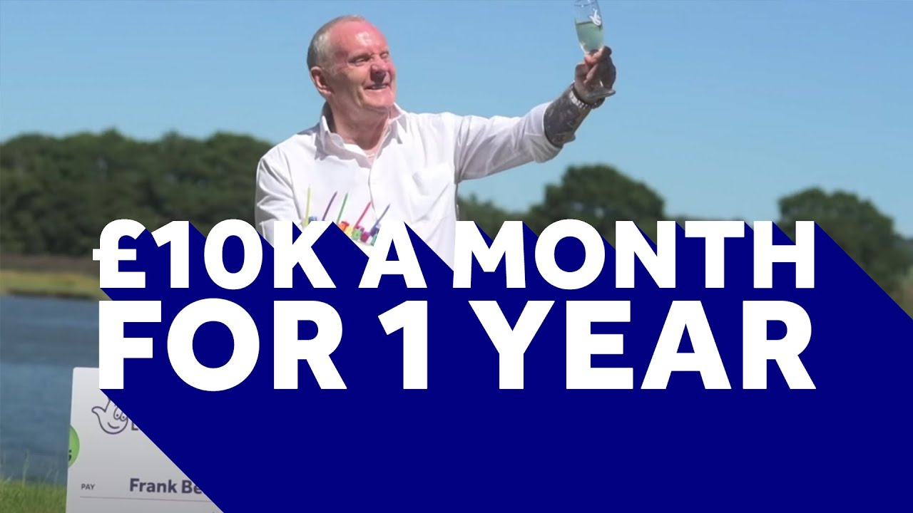 £10K every month for a year for birthday boy Frank