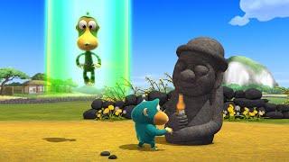 Обезьянки из космоса (Alien Monkeys) - Каменный человек, Харыбан (41 серия)