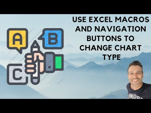 Use excel macros and navigation buttons to change chart type youtube use excel macros and navigation buttons to change chart type ccuart