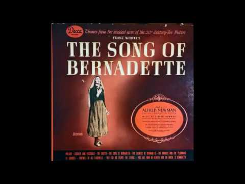 Alfred Newman: 1944 THE SONG OF BERNADETTE in Restored Sound
