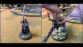 Lord of the Rings SBG Battle Report: Eregion vs. Angmar 750 Points