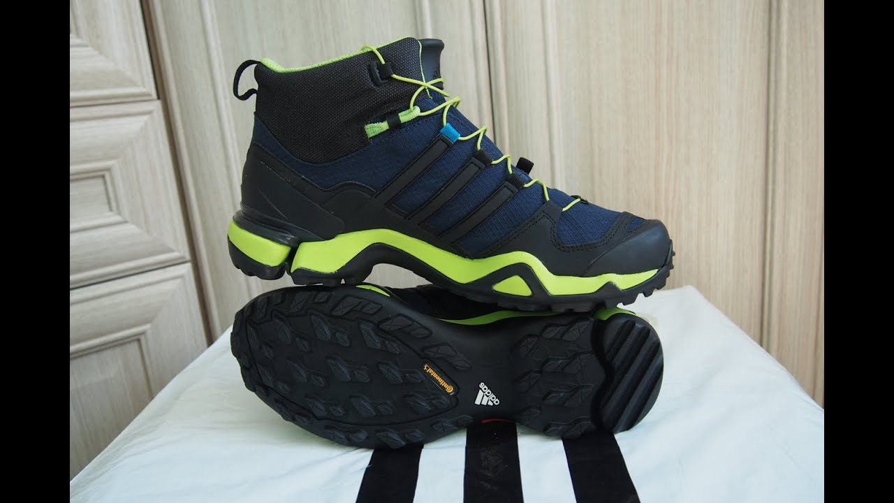 adidas terrex fast r mid gtx youtube. Black Bedroom Furniture Sets. Home Design Ideas