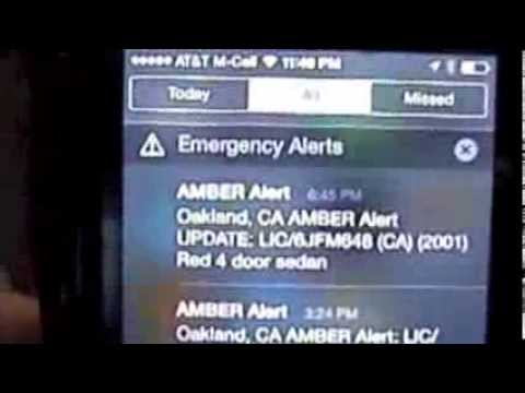 iphone amber alert reading and managing alerts on an iphone 11585