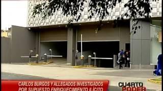 CUARTO PODER - CASO CARLOS BURGOS ALCALDE DE SAN JUAN DE LURIGANCHO