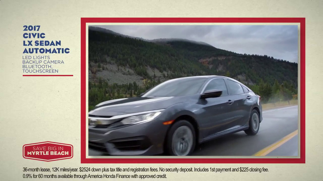 Honda Civic and Accord Special Offers | East Coast Honda - YouTube