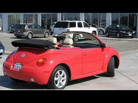 2004 Volkswagen Beetle Convertible GLS - Folsom Lake Honda - Rancho Cordova, CA 95742