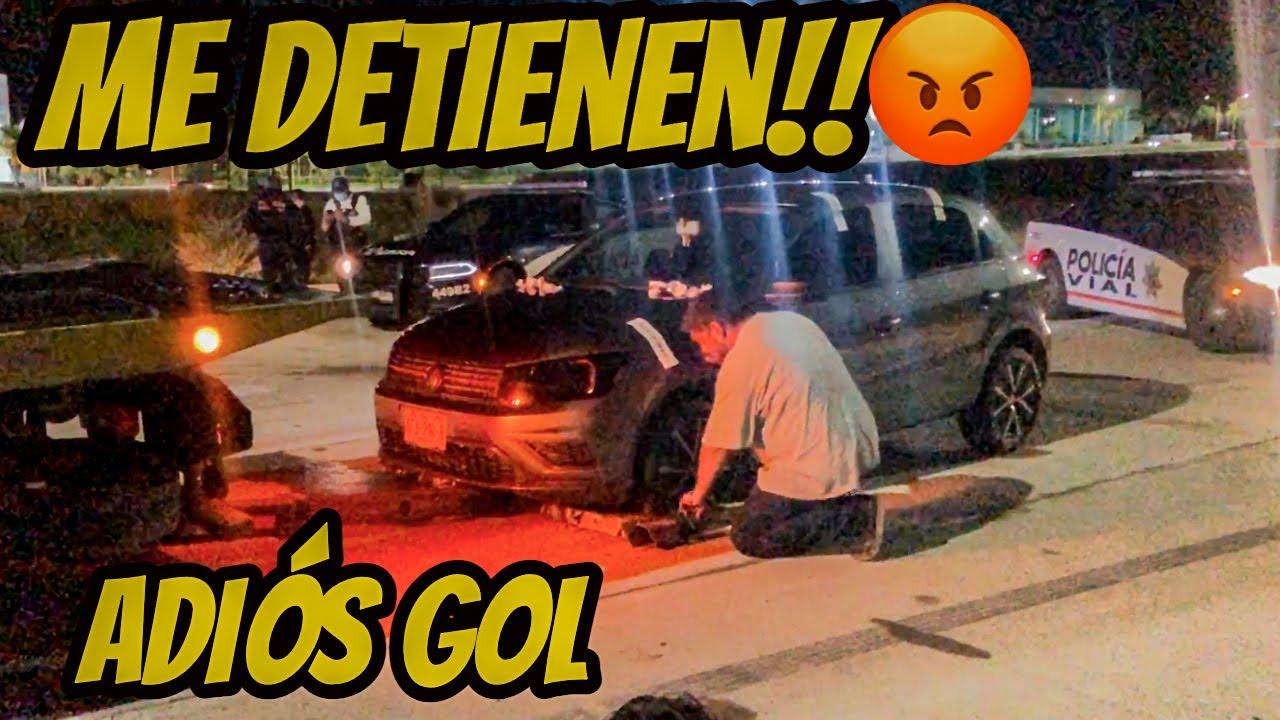 LA P0L1 ME QUITÓ MI VOLKSWAGEN GOL!