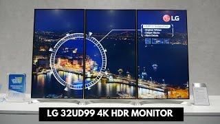 LG 32UD99 4K HDR Monitor!!!