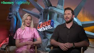 Chris Pratt and Elizabeth Banks on the perks of not growing up too fast