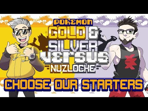CHOOSE OUR STARTERS! • Pokemon Gold And Silver Randomizer Nuzlocke Versus!