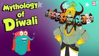Why Is Diwali Celebrated? | MYTHOLOGY OF DIWALI | Dr Binocs Show | Peekaboo Kidz