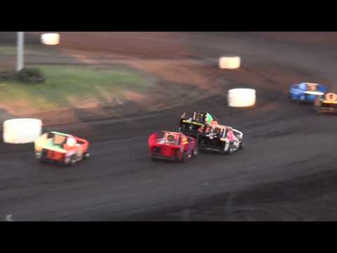 BCS Micro Mod Season Championship feature Benton County Speedway 8/20/17