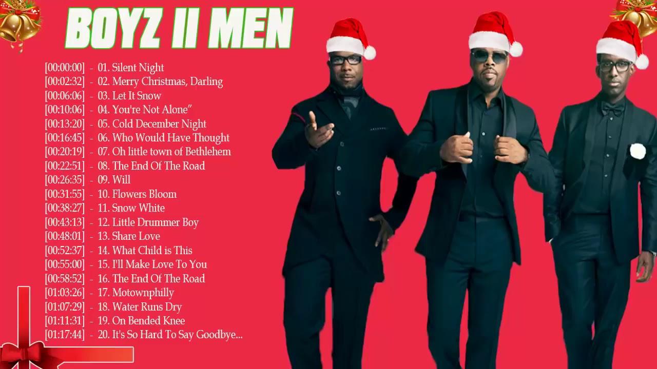 Boyz ii men christmas songs